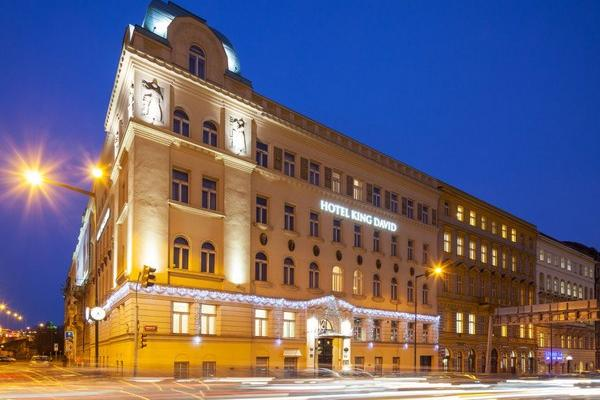 фото отеля King David Hotel Boutique Prague (ex. Hotel Terminus Prague) изображение №1